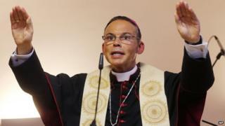 File photo of Bishop Franz-Peter Tebartz-van Elst (29 August 2013)