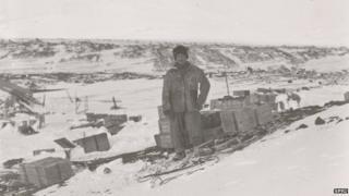 "Henry ""Birdie"" Bowers, Cape Evans, October 1911"