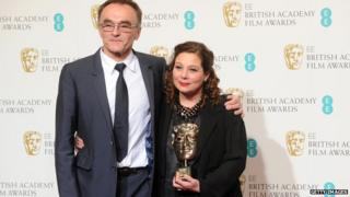 Danny Boyle and Tessa Ross
