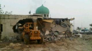 Demolition of the Amir Mohammed Mohammed Barbagi Mosque (April 2011)