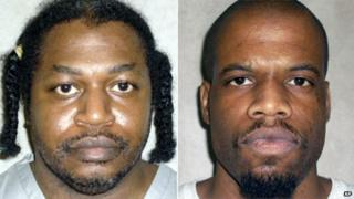 Charles Warner and Clayton Lockett, shown in photographs released by the Oklahoma Department of Corrections