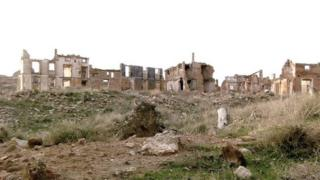 The ghost town of Belchite