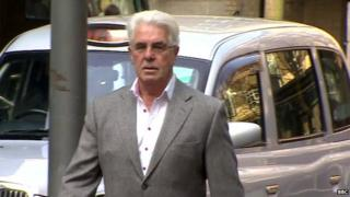 Max Clifford arrives at Court this morning