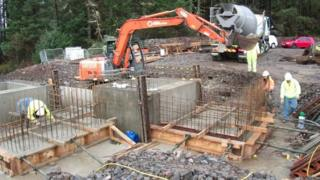 Achnasheen hydro scheme site