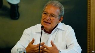 Salvador Sanchez Ceren, 17 March 14