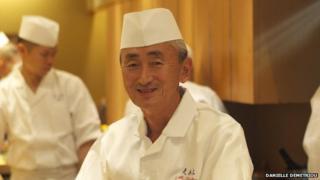 Japanese sushi chef Yosuke Imada
