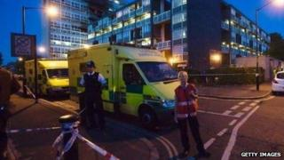 Police and ambulance attend call-out