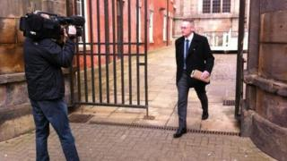 Sean Frayne at Southern Derbyshire Magistrates' Court