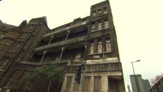 Disused NHS building