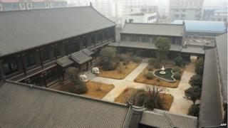 Former general Gu Junshan's Henan residence in Puyang, central China's Henan province, 17 January 2014