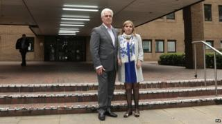 Max Clifford and daughter Louise