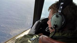 Several nations are involved in the search operation to find the missing jet