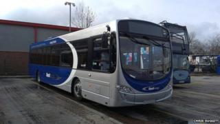 Metrobus talking bus