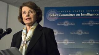 Senate Intelligence Committee Chair Senator Dianne Feinstein