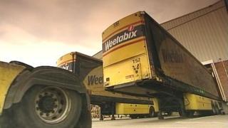 Weetabix lorry