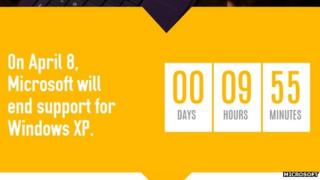 XP countdown clock