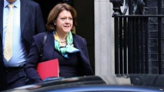 Maria Miller attends cabinet