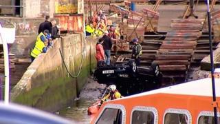 Peterhead harbour crash