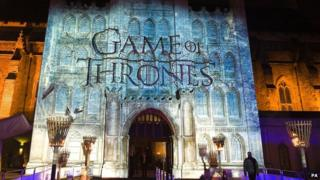 Sky Atlantic's premiere of the fourth season of Game of Thrones at The Guildhall, London.