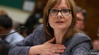 Mary Barra, GM chief executive
