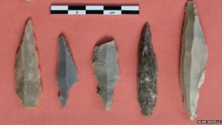 Flint tools