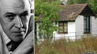 Roald Dahl/The writer's shed