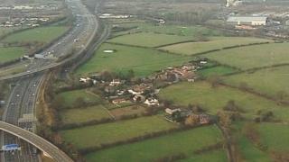 Gilson, a hamlet just outside Coleshill