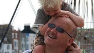 steve clark and his son