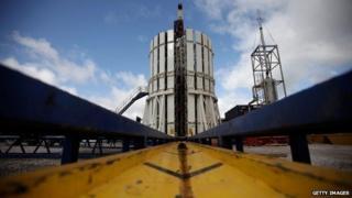 Cuadrilla shale fracking facility in Preston, Lancashire