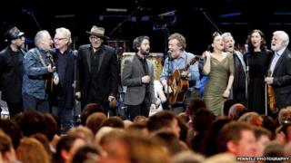 Elvis Costello, Paul Brady, Glen Hansard and Imelda May were among the performers