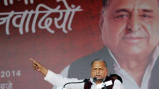 Mulayam Singh Yadav is India's former defence minister