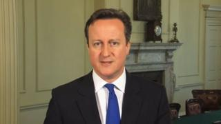 David Cameron gives his Easter message