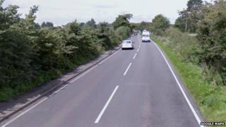 Part of the A452