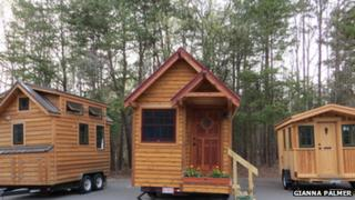 Houses on display at first-ever Tiny House Conference in Charlotte, North Carolina