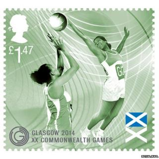 Commonwealth Games stamp