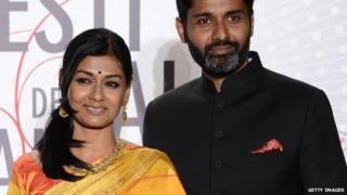 Nandita Das and her husband