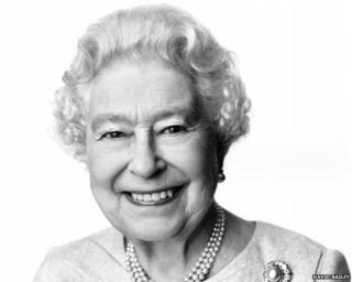 David Bailey's portrait of the Queen