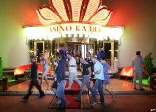 Casino in Azov City, 2010 file pic