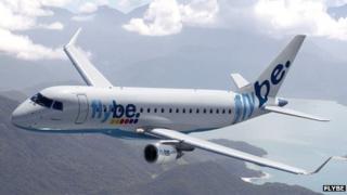 Flybe plane