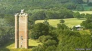 King Alfred's Tower at Stourhead