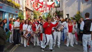 Padstow's Obby Oss Celebrations