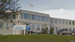 Sandvik Halesowen head office