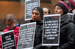 Rape protest, London 2013