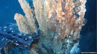 Deep sea mining