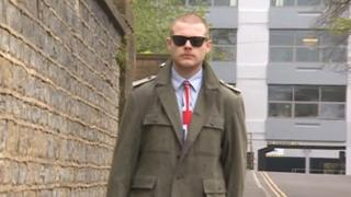 Joshua Bonehill-Paine outside court