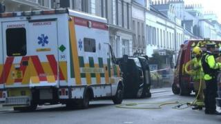Emergency services attend St Helier road traffic incident