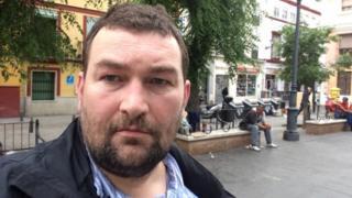 The BBC's Patrick Jackson, in Seville (26 April)