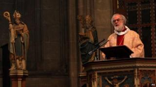 Lord Williams, the former Archbishop of Canterbury