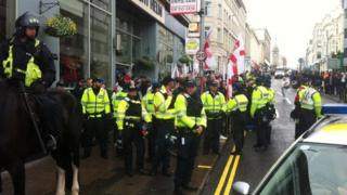 March for England in Brighton