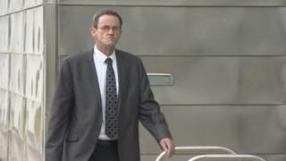 Michael Lee outside Ipswich Crown Court